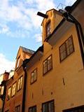 De huizen van Stockholm Royalty-vrije Stock Foto's
