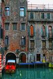 De huizen van Venetië Stock Afbeeldingen