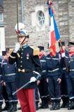 De Hulde van de Dag van de Overwinning van WO.II in Frankrijk Royalty-vrije Stock Afbeelding
