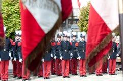 De Hulde van de Dag van de Overwinning van WO.II in Frankrijk Royalty-vrije Stock Foto's