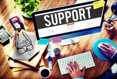 De Hulp Communautaire Motivatie Team Concept van de steunhulp royalty-vrije stock afbeelding