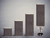 De statistieken van de hulp royalty-vrije stock afbeeldingen