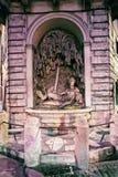 De hulp van godinjuno bas van Vier fonteinen die Rome inbouwen Stock Foto's