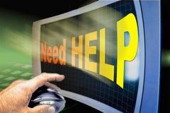 De Hulp van Interent Stock Foto's
