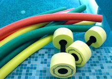 De hulpmiddelen van Aqua Stock Afbeeldingen