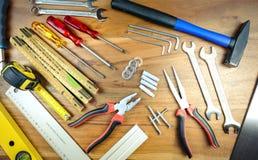 De Hulpmiddelen van de Craftmanhand royalty-vrije stock afbeeldingen