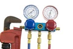 De hulpmiddelen van de airconditioning Stock Foto