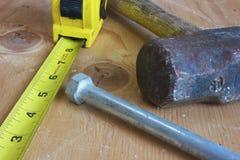 De hulpmiddelen van de bouw Royalty-vrije Stock Fotografie