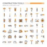 De hulpmiddelen van de bouw royalty-vrije illustratie