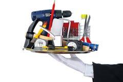 De hulpmiddelen van de butler Stock Fotografie
