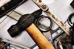 De hulpmiddelen van de hand. Royalty-vrije Stock Afbeelding