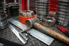 De Hulpmiddelen van de Hand van de fabriek Royalty-vrije Stock Afbeeldingen
