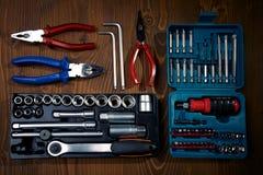 De Hulpmiddelen van de hardware stock afbeeldingen