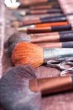 De hulpmiddelen van de kunstenaar van de make-up Stock Afbeelding