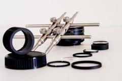 De hulpmiddelen van de lensreparatie Royalty-vrije Stock Foto