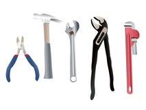 De Hulpmiddelen van de loodgieter Stock Foto