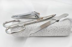 De hulpmiddelen van de manicure Royalty-vrije Stock Foto
