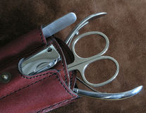 De hulpmiddelen van de manicure Royalty-vrije Stock Afbeeldingen