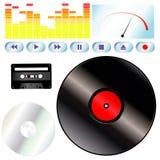 De hulpmiddelen van de muziek Royalty-vrije Stock Fotografie