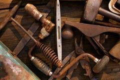 De Hulpmiddelen van de oude Hand Royalty-vrije Stock Afbeeldingen