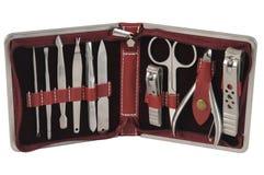 De hulpmiddelen van de pedicure. Royalty-vrije Stock Foto