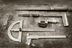 De hulpmiddelen van de slotenmaker Stock Afbeeldingen