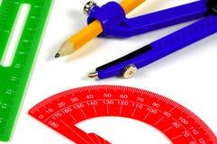 De Hulpmiddelen van de tekening stock fotografie