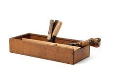 De hulpmiddelen van de timmerman Royalty-vrije Stock Foto's