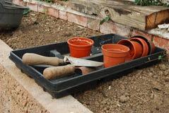 De hulpmiddelen van de tuin Royalty-vrije Stock Foto's