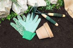 De hulpmiddelen van de tuin Royalty-vrije Stock Foto
