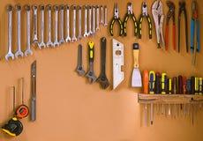 De hulpmiddelen van de workshop Royalty-vrije Stock Foto's