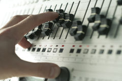 De hulpmiddelen van DJ Royalty-vrije Stock Afbeeldingen