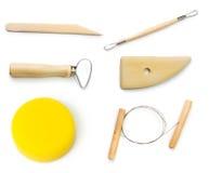 De hulpmiddelen van het aardewerk Royalty-vrije Stock Afbeeldingen