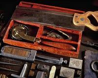 De Hulpmiddelen van het boekbinden Royalty-vrije Stock Foto's