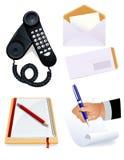 De hulpmiddelen van het bureau Stock Afbeelding