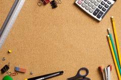 De hulpmiddelen van het bureau Stock Foto's