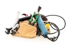 De hulpmiddelen van het loodgieterswerk Stock Fotografie