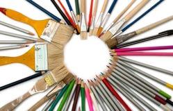 De hulpmiddelen van het ontwerp Stock Fotografie