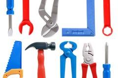 De hulpmiddelen van het stuk speelgoed Stock Fotografie