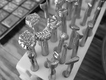 De hulpmiddelen van Leatherworking Stock Afbeelding