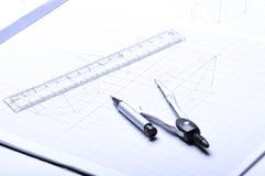 De hulpmiddelen van ontwerpers Royalty-vrije Stock Foto's