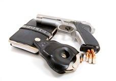 De hulpmiddelen van politiemannen Stock Afbeelding