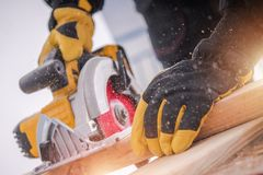 De Hulpmiddelen van de timmerhouthoutbewerking Stock Foto's