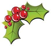 De Hulst van Kerstmis royalty-vrije illustratie