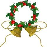 De hulsthulst van Kerstmis Royalty-vrije Stock Fotografie