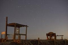 De Humberstone-salpeter Stock Foto