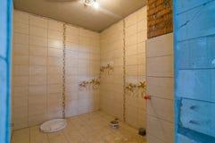 De huren van een de bouw badkamers Stock Afbeelding
