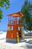 De hut van badmeesters Royalty-vrije Stock Fotografie