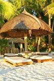 De hut van Boracay Stock Afbeelding