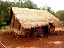 De Hut van Bunong, Kambodja Stock Afbeelding